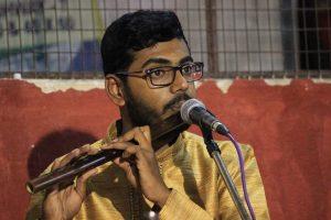 ವೇಣು(ಕೊಳಲು) ವಾದನ @ Sri Ganesha Mandiram | Bangalore | India